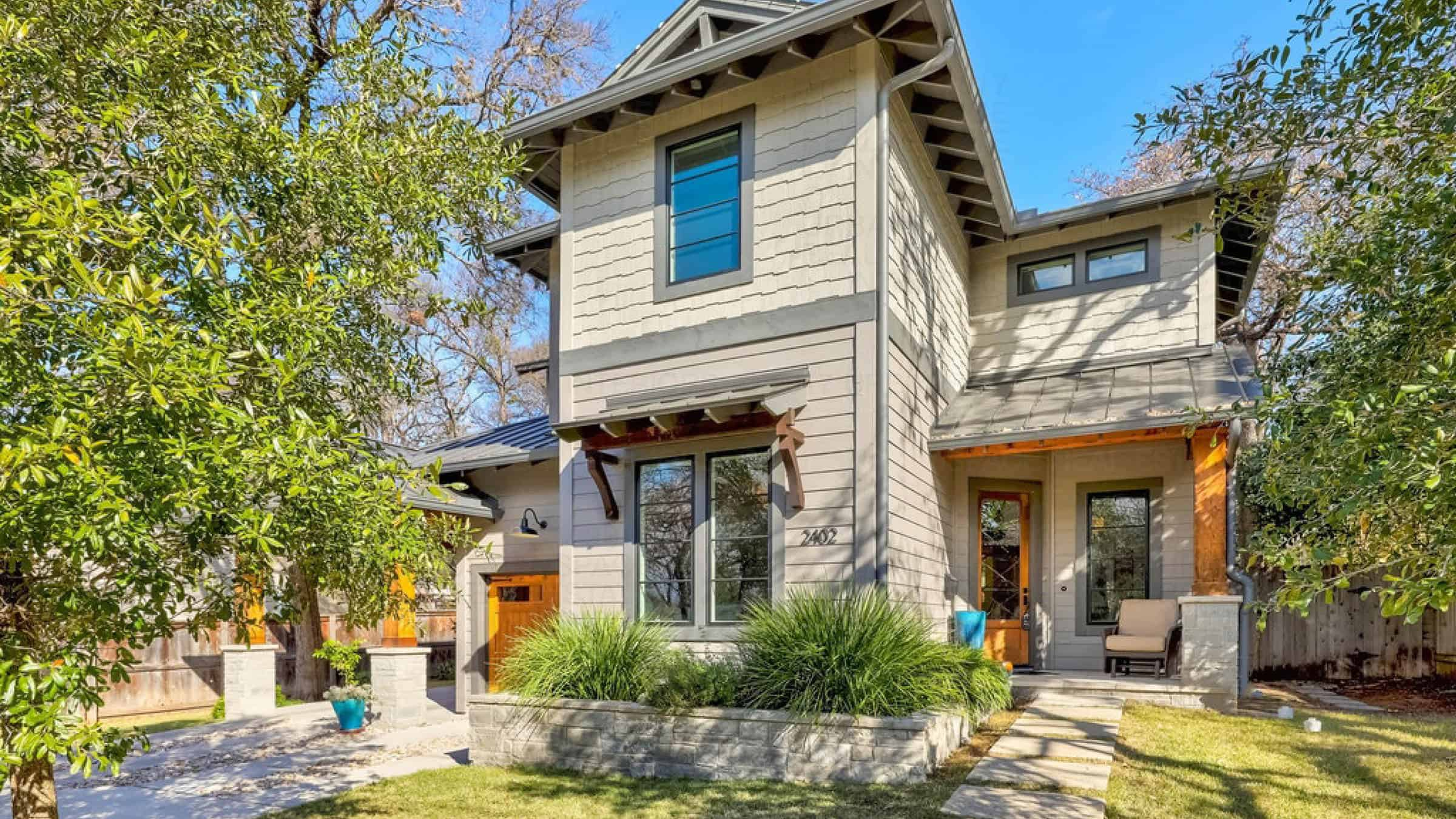 kevin burns slider exterior house austin downtown real estate